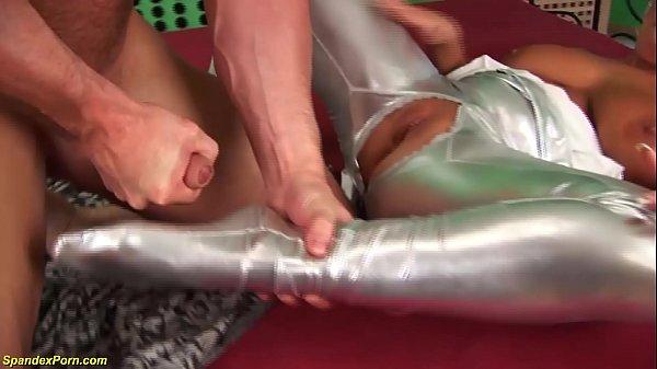 monster boob spandex milf b. anal fucked