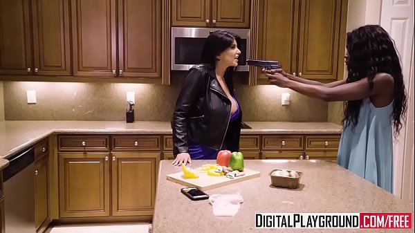 Download video bokep DigitalPlayground Dark Obsession Scene 5 (Ana Foxxx, Romi Rain, Charles Dera)
