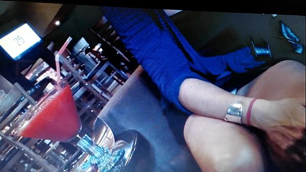 Upskirt in Restaurant Thumb
