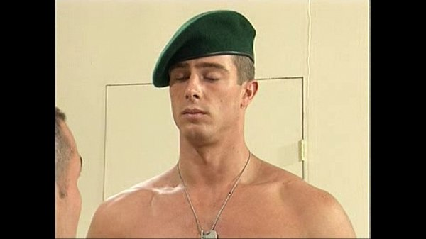 Military Nude Files - Foreign Hung Private Marine Pavel is stripped naked by USA army captain