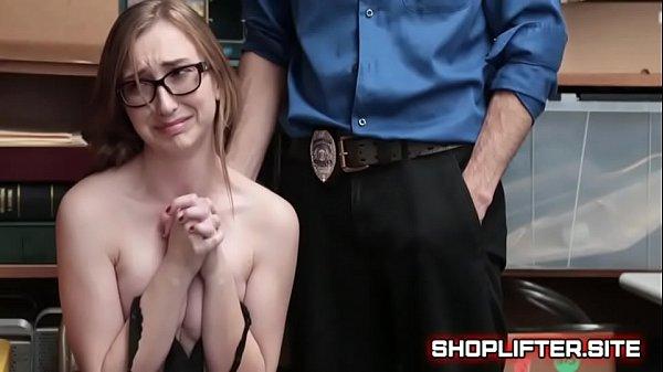 Shoplifting Barely-Legal Teen Thief a.