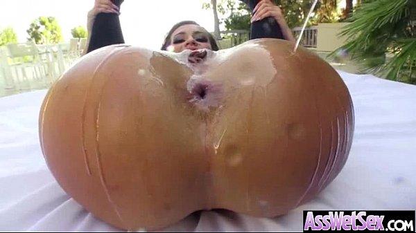Big Wet Butt Girl (kelsi monroe) Enjoy Hard Anal Nailed On Tape mov-15