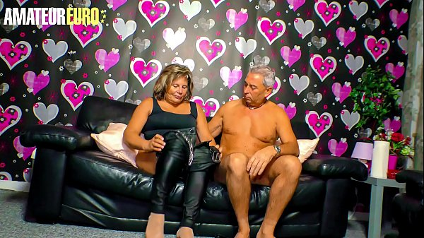 AMATEUR EURO - Curious Granny Karin A. Tries Porn For Her Very First Time Thumb