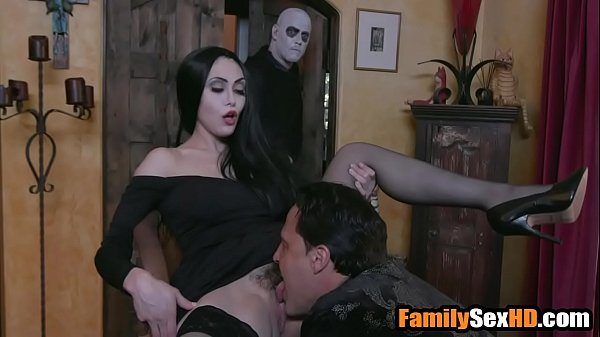 Adam's family taboo orgy - mom dad fuck son and daughter parody Thumb