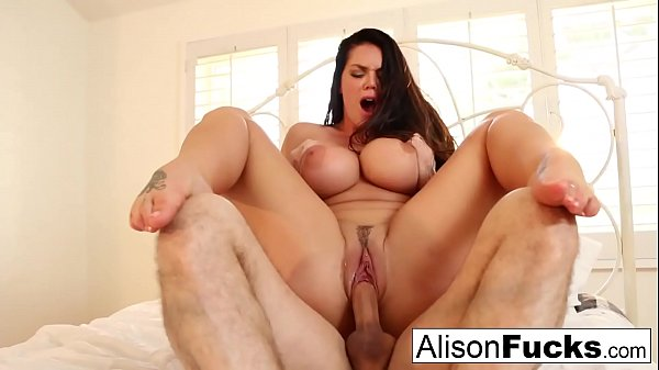 Alison Tyler gets hr pussy stuffed with a big cock Thumb
