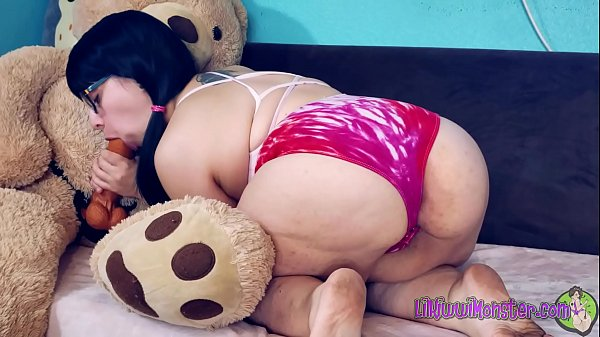 Play Time with Kiwwi - Teddy Bear Fuck! *Full version on Xvideos RED* Thumb