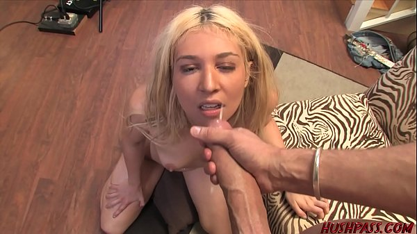 18 year old gets Whitezilla cock