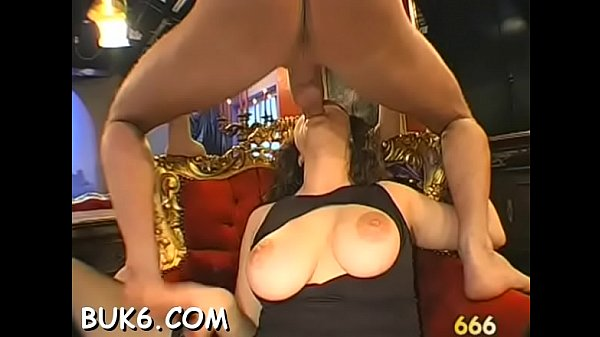 Lusty babes are expecting lustily for stud's warm white seeds