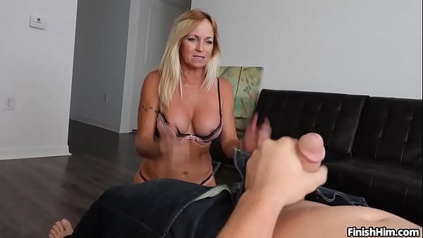 Milf Finds Young Guy In Her Room Jacking Off His Cock Thumb