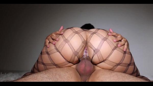 MILF Suck Cock and Big Ass Riding Closeup – Cristall Gloss