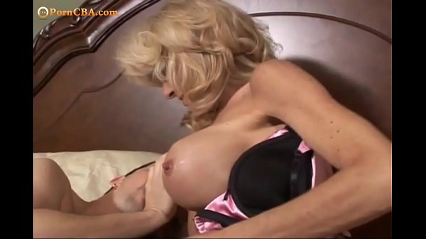 OMG, Big Tits Granny really loves when it hurts