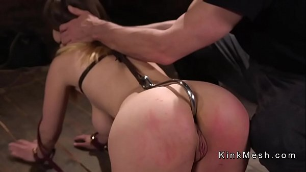 Hot ass busty brunette anal fucked Thumb