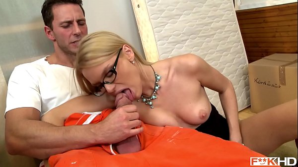 Sexy Blonde Secretary Summer Deep Throats While in 69 Until Both Cum Hard Thumb