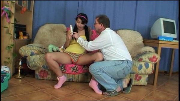Special gift and a cock to suck for my little daughter! Thumb