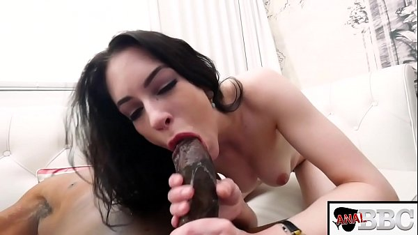 ALL NATURAL BRUNETTE ANNA DE VILLE TAKES A HUGE BBC UP HER TIGHT ASS AND BEGS FOR A CREAMPIE