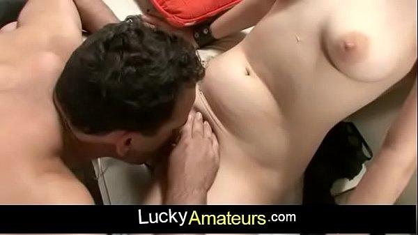 Amateur threesome sex with spanish amateur slut Joana