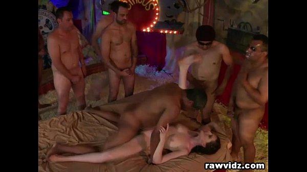 Whore House Gangbang For A Cock Craving Slut