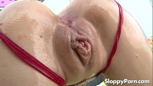 Naomi Woods in wet doggystyle sex