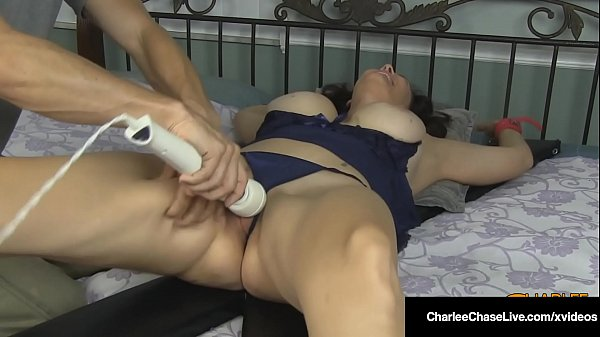 Tickled Milf Charlee Chase Finger Fucked & Vibed To Orgasm!