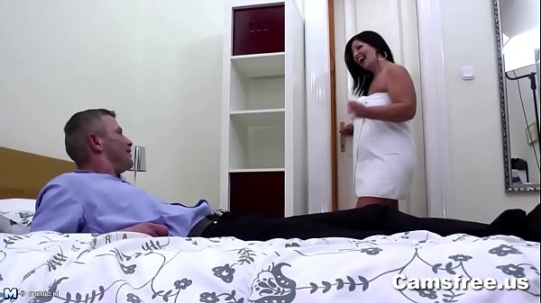 Image Mature Big Booty Step-Mom Seduces Young Cock
