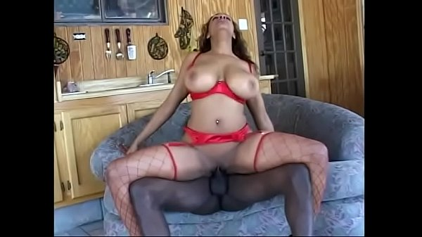 Slut gets a huge black cock in her vag after sucking dick and then gets jizzed