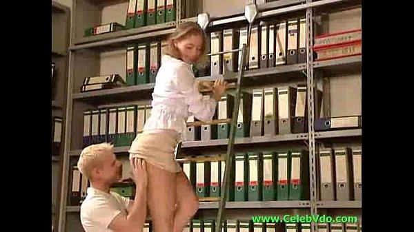 Juliette Shyn: Anja In The Office Cool By Fucked
