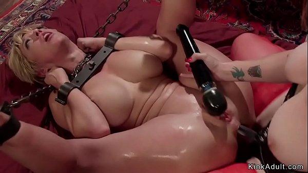 Busty Milf lesbian anal bdsm banged