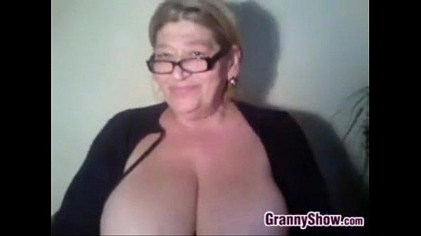 Granmas big tits