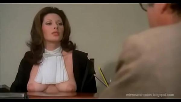 Edwige Fenech de Juez desnuda!!
