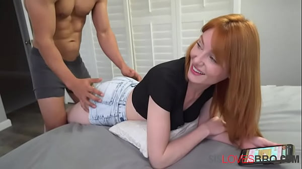 Brother Puts His USB D Into Sister's Socket - Lacy Lennon