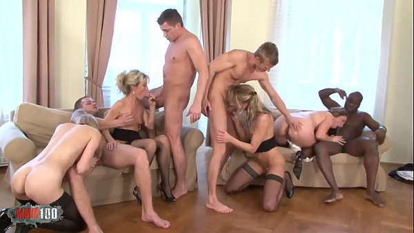 Anal and DP for a big orgy