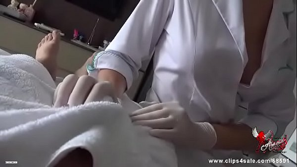 Nurse jerking off with gloves Thumb