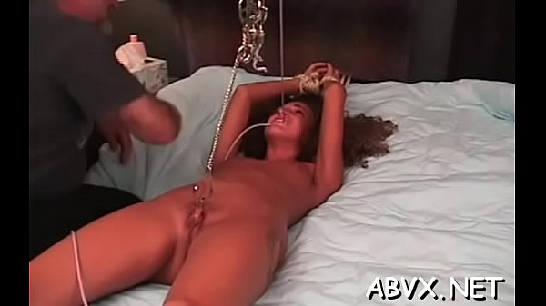 Sensational darling gets fucked raw and gets her cunny