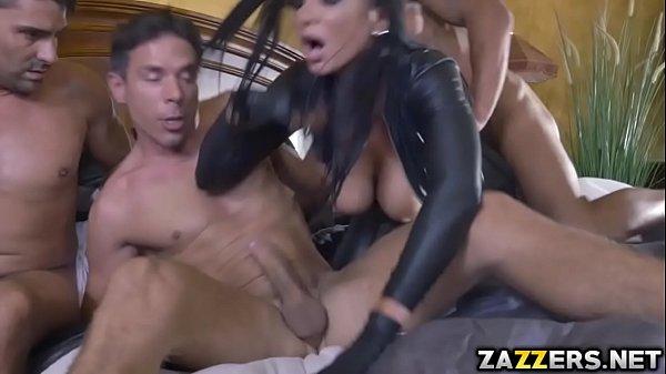 Stallion and Toni double fucked Romi