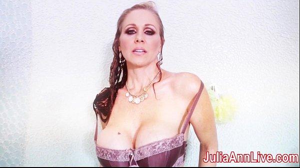 Julia Ann Gets Soaking Wet!