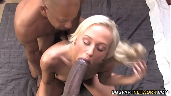 Molly Rae Fucks The Two Biggest Black Cocks