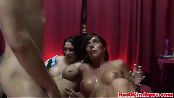 Threeway sex tourist cocksucked in Amsterdam Thumb
