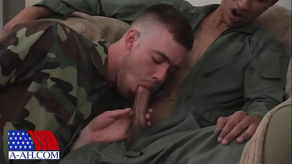 Army fucks sergeant Alex