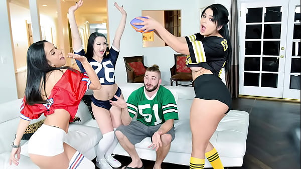 Three Gorgeous Latina Hotties Are Better Than Football and TV - Carolina Cortez, Tia Cyrus, Mandy Muse Thumb
