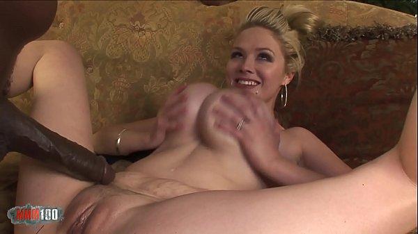 Giant black dick for giant white boobs Thumb