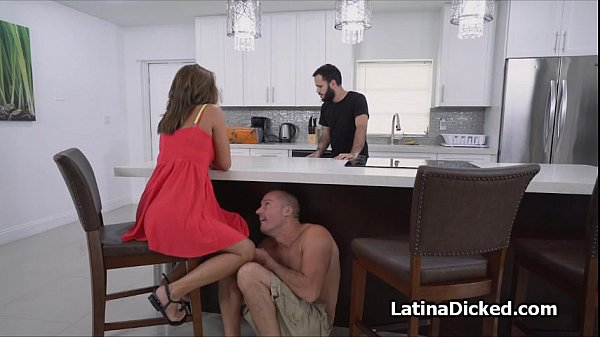 Cheating bigtit gf almost busted