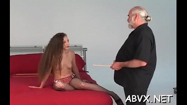 Dilettante hottie pussy shagged in dilettante bondage scenes Thumb