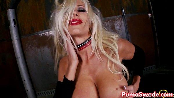 Puma Swede Gets Dirty in Warehouse! Thumb