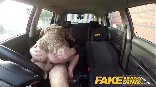 Fake Driving School Blonde Polish babes pussy gets slammed Thumb