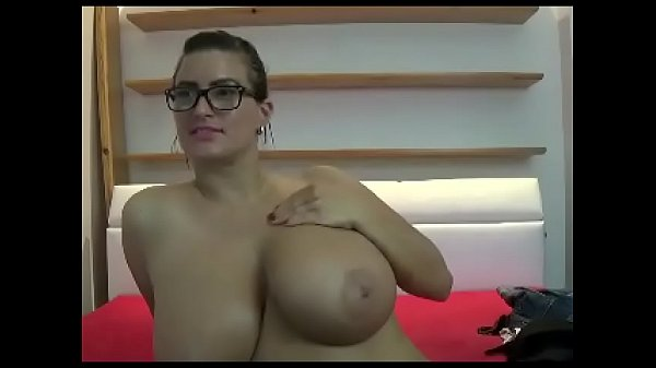 Large woman with super huge boobs
