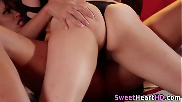 Women grinding pussies together porn clips