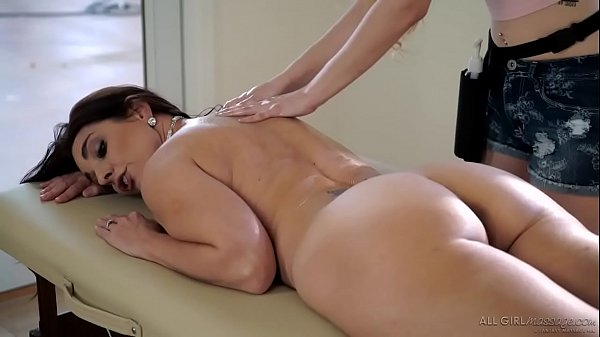 Stepdaughter does special massage on her Mom - Samantha Hayes, Mindi Mink Thumb