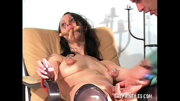 Messy female humiliation and extreme domination Thumb