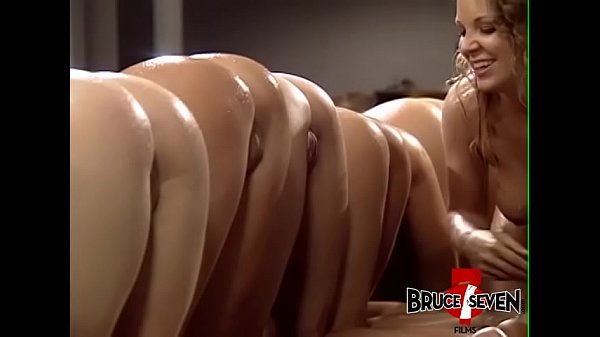 Lubed up lesbians fingering and ass fucking in hardcore orgy Thumb