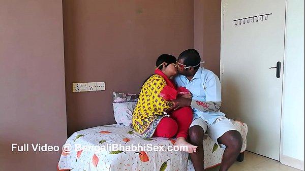 Big Boob Desi Wife Shanaya Honeymoon Night Sex IN Saree Thumb
